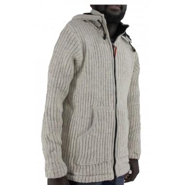 wol jas met fleece